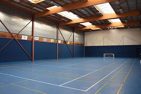 De polyvalente sportzaal in The Loft | Ronse